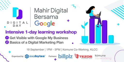 Get Visible with Google My Business (Beginner Workshop) | Digital Day