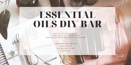Essential Oils DIY Bar tickets