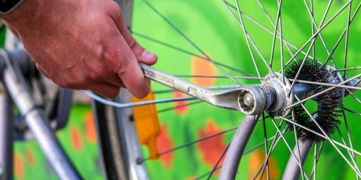 Hands-on Basic Bike Maintenance Workshop - Saturday 9 November 2019 (1pm - 3pm)