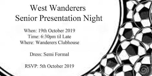 West Wanderers FC Senior  Gala