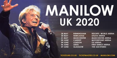 MANILOW - Newcastle - 30 May 2020