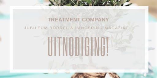Jubileum Borrel & Lancering Magazine