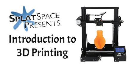 Intro to 3D Printing + Printer Giveaway! tickets