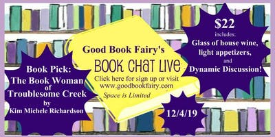 BOOK CHAT LIVE - December 4th, 2019
