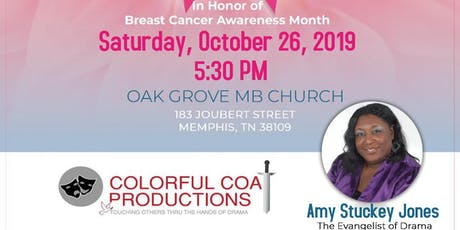 A Survivor's Story Breast Cancer Stage Play tickets