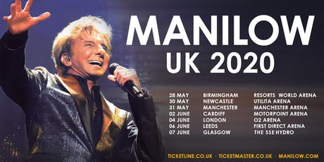 MANILOW UK: Manchester - PLATINUM - 31 May 2020 tickets