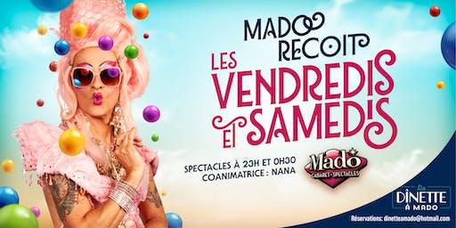 Mado Reçoit vendredi 4 Octobre 2019
