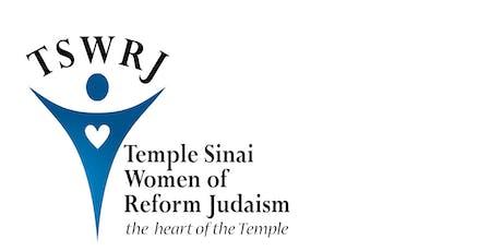 Temple Sinai WRJ Reproductive Justice program tickets