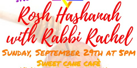 Rosh Hashanah with Rabbi Rachel