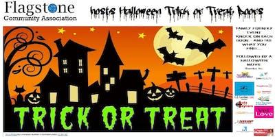 Halloween - Flagstone ***** or Treat Doors