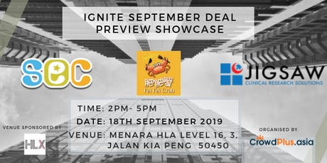 IGNITE September: Deal Preview Showcase tickets