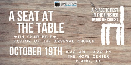 A Seat at the Table- Fall 220 Conference tickets