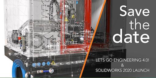 LET'S GO ENGINEERING 4.0! & SOLIDWORKS 2020 LAUNCH - Brisbane