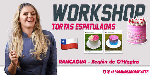 Workshop Tortas Espatuladas - RANCAGUA