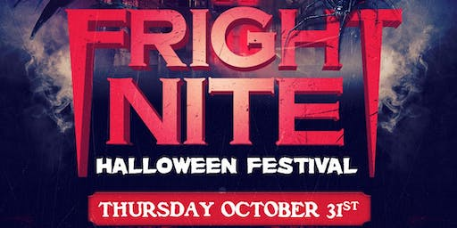 FRIGHT NITE 18+ HALLOWEEN FESTIVAL | 2+ STAGES | SANTA CLARA COUNTY FAIRGROUNDS
