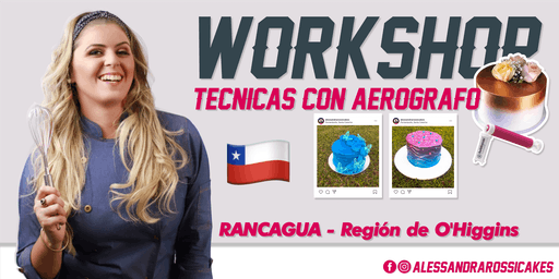 Workshop Técnicas en Aerógrafo - RANCAGUA