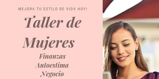 Taller de Mujeres, salud, emprendimiento, finanzas