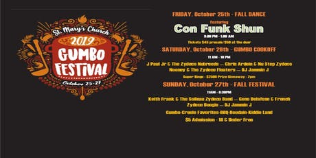 St. Mary's Annual Gumbo Festival tickets