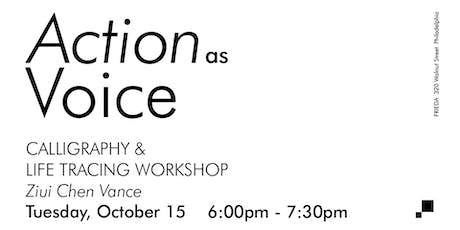 Workshop - Calligraphy & Life Tracing tickets