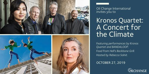 Kronos Quartet: A Concert for the Climate