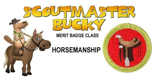 Horsemanship Merit Badge - 2019-10-19 - Saturday PM - Scouts BSA