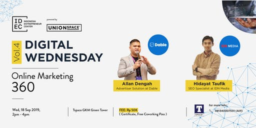 Digital Wednesday Vol.4: Online Marketing 360