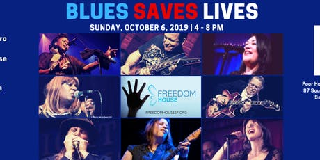 BLUES SAVES LIVES tickets