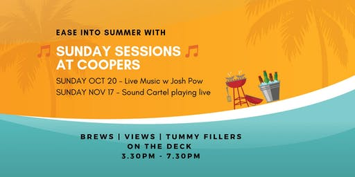 Ease into Summer Sunday Sessions @Coopers