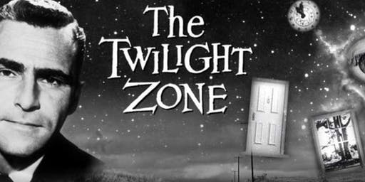 16mm screening of classic Rod Serling TWILIGHT ZONE episodes at the Vista!