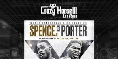 Errol Spence Jr vs Shawn Porter: World Championship Unification Clash