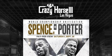 Errol Spence Jr vs Shawn Porter: World Championship Unification Clash tickets