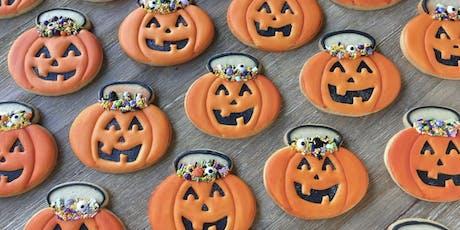 Halloween Cookie Decorating Class tickets