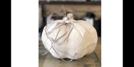 Annie Sloan Basics Make and Take Pumpkin tickets