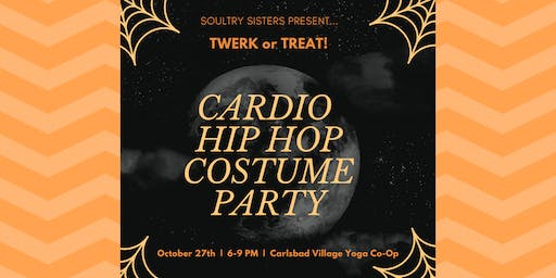 Soultry Sisters Present: Cardio Hip Hop Costume Party