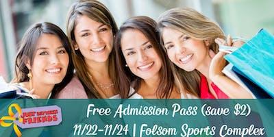 FREE Admission Pass: JBF Folsom Winter Event 2019