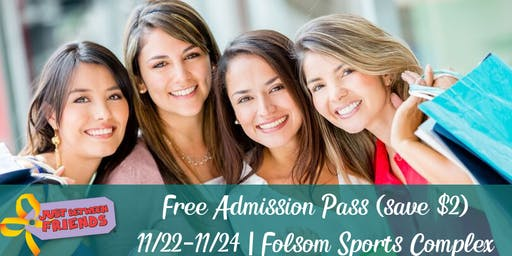 FREE Admission Pass: JBF Folsom Winter Event 2019
