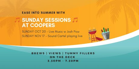 Ease into Summer Sunday Sessions @Coopers tickets