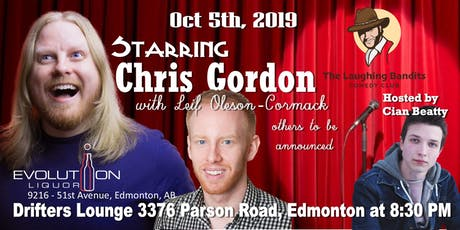 The Laughing Bandits Comedy Starring Chris Gordon tickets