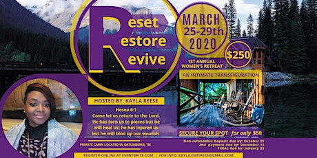 ReSet ReStore ReVive : Transfiguration tickets