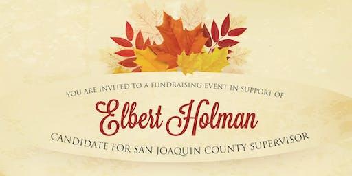 Elbert Holman - Fall Fundraiser