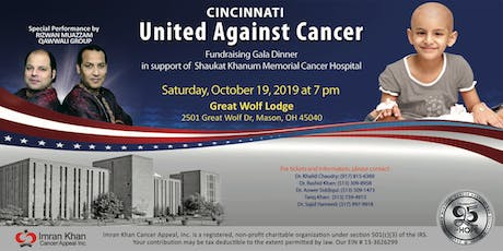 Fundraising Gala Dinner in Cincinnati tickets