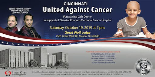 Fundraising Gala Dinner in Cincinnati