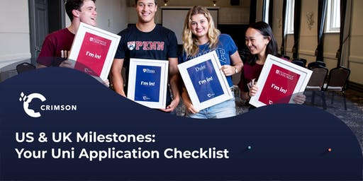 US & UK Milestones: Your University Application Checklist | SG