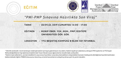 PMI-PMP Sınavına Hazırlıkta Son Viraj tickets