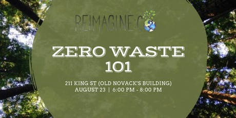 Zero Waste 101: How to live plastic-free - October 2019 tickets