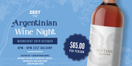 ARGENTINIAN WINE NIGHT tickets
