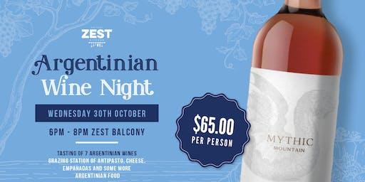 ARGENTINIAN WINE NIGHT