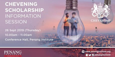 Chevening Scholarship Information Session tickets