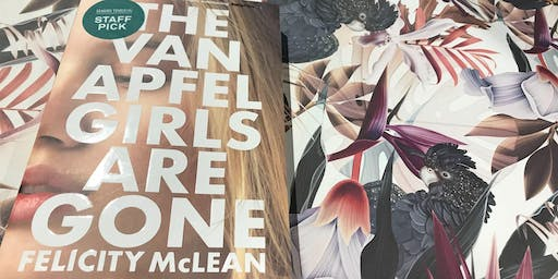 Author Talk with Felicity McLean - The Van Apfel Girls are Gone