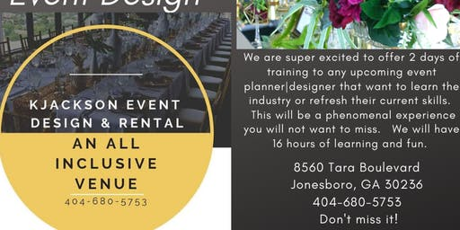 The Fundamentals of Event Planning and Design